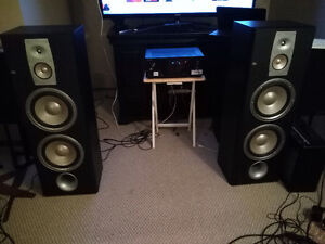 "JBL ND310 TOWER SPEAKERS - GREAT CONDITION, DUAL 10"" WOOFERS"