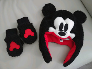 Baby Mickey Mouse Hat/Glove Set - NEW!