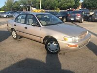 Lease to own in 2 years for $128 per/m +tax 1997 Toyota Corolla