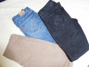 Womens Jeans and Capri Pants
