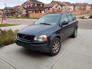 SOLD - 2004 Volvo XC90 Wagon 7 seats built-in DVD