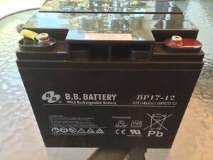 Batterie 12v 17mah (24 volts) rechargeable