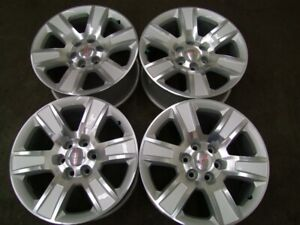 "4- NEW TAKEOFF 20"" 6x5.5(139.7) GM TRUCK FACTORY ALLOYS"