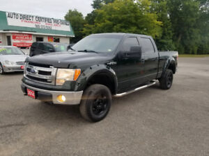 2014 FORD F150  SUPERCREW  4X4 ** SALE $20999  ** 100% APPROVED