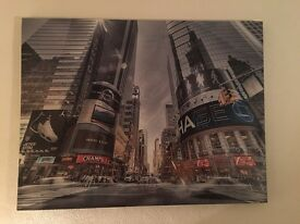 New York style canvas