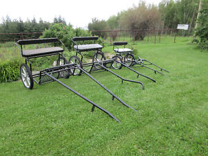 New Pony Carts and Horse Carts in stock