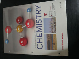KPU Biology and Chemistry Textbooks!!