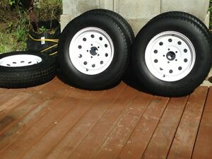 cargo trailer tires .or camper tires and wheels