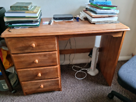 Simple Wooden Desk