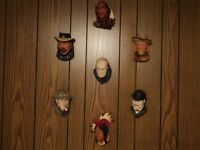 Collectible bosson heads