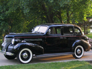 1939 Chevrolet Master Deluxe 4 door sedan for sale