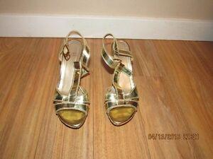 fashionable lady's pair of shoes Stuart Weitzman