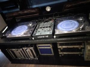 Technics 1200 DJ Turntables (SL 1200 MK2)
