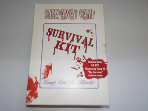 Survival Kit 4 DVDs Sleepaway Camp EXCELLENT condition RARE