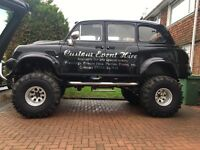 Off road monster truck Toyota Hilux v8 London taxi cab 4x4 swap part X