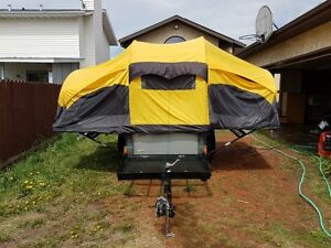Coleman Switchback tent trailer