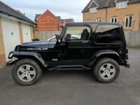 Jeep Wrangler 4.0 UK CAR - RARE MANUAL - ££££'s IN MODS