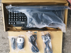 Dell keyboard set with mouse brand new