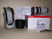 CANON EF 100-400MM/4.5-5.6L IS USM