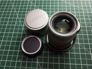 Sony E-mount Zeiss Sonnar 90/2.8 Contax G with Fotodiox adapter