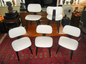 Five Thonet Style Dining Chairs