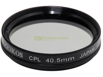 40,5mm. filtro Polarizzatore circolare Zeikos. Circular polarizer. #