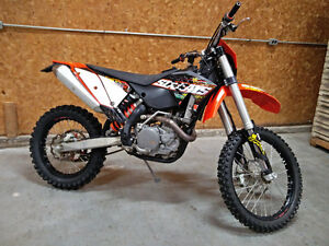 2010 KTM 450 xc-w 6 days (in process of being made street legal)