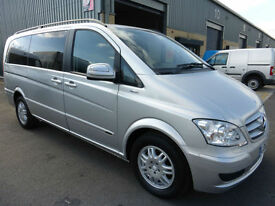 2013 Mercedes-Benz Viano AMBIENTE 116 CDi LWB 2.2 AUTO 8 seat TRAVELINER Blu'Eff