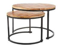 Bigger Scandinavian Coffee Table of wood modern style