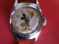 MICKEY MOUSE WATCH COLLECTIBLE