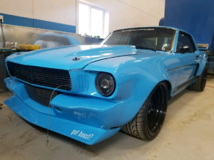 1965 and 1966 restomod mustang show cars