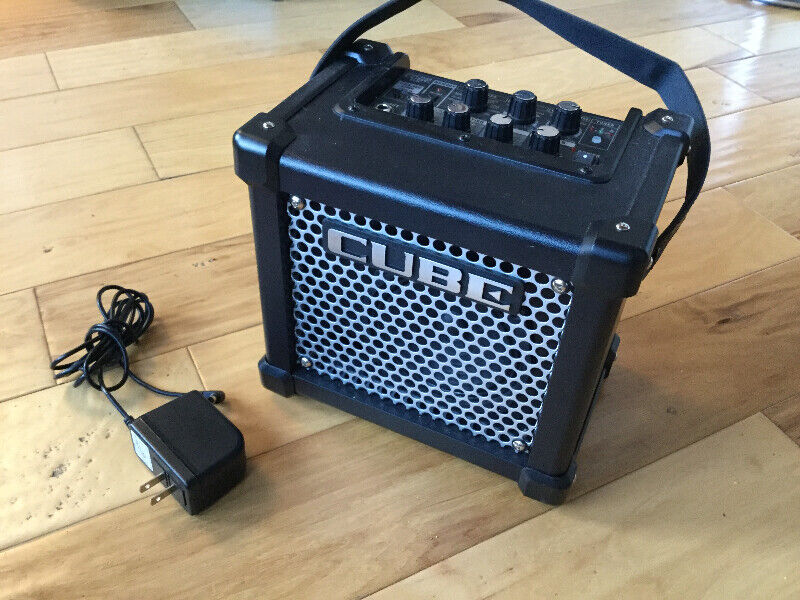 Roland microcube gx amp – for busking and practice