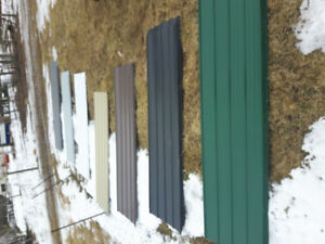 New steel roofing or siding. SAVE! Half price!