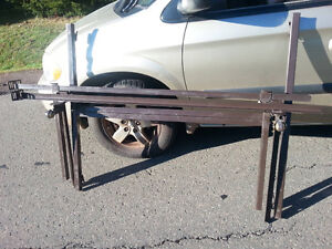 Adjustable bed frame on wheels, Double to King size.