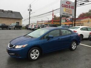 2015 Honda Civic LX    FREE 1 YEAR PREMIUM WARRANTY INCLUDED!