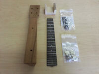 Mainland Ukes - Ukulele Neck + parts for Cigar Box Uke