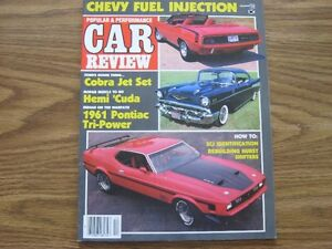 54 POPULAR & PERFORMANCE CAR REVIEW/MUSCLE CAR REVIEW MAGAZINES