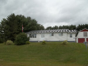 House for sale in Doaktown NB, 3 plus 2 Bdrm 2 baths