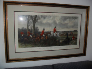 *****  BEAUTIFUL  LARGE  FRAMED PICTURES