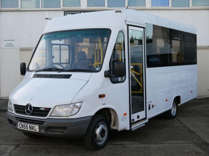 Mercedes Sprinter 411 Cdi Bus Coach Minibus Crew Camper