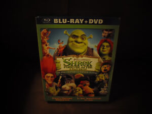 Shrek Forever and After DVD & Blu Ray