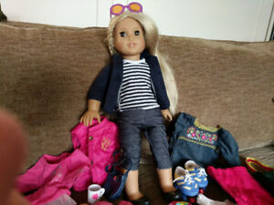 American girl doll Julie. Excellent condition, barely used