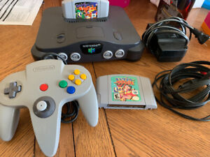 Nintendo 64 with Banjo-Kazooie & Banjo-Tooie For Sale Or Trades