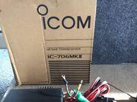 Icom IC 706 Transceiver