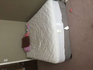 Double size bed with matress