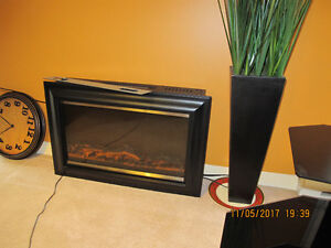 Wall Mounted fireplace heater, like new. Paid $150.00 plus tax