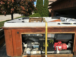 Hot tub moving and disposal new or used call the hot tub pros