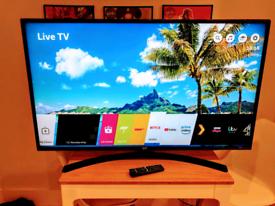 "LG 49"" Smart 4K HDR TV"