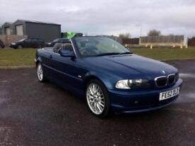 2002 BMW 3 Series 2.5 325Ci SE 2dr