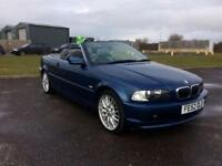 2002 BMW 3 Series 2.5 325Ci SE 2dr